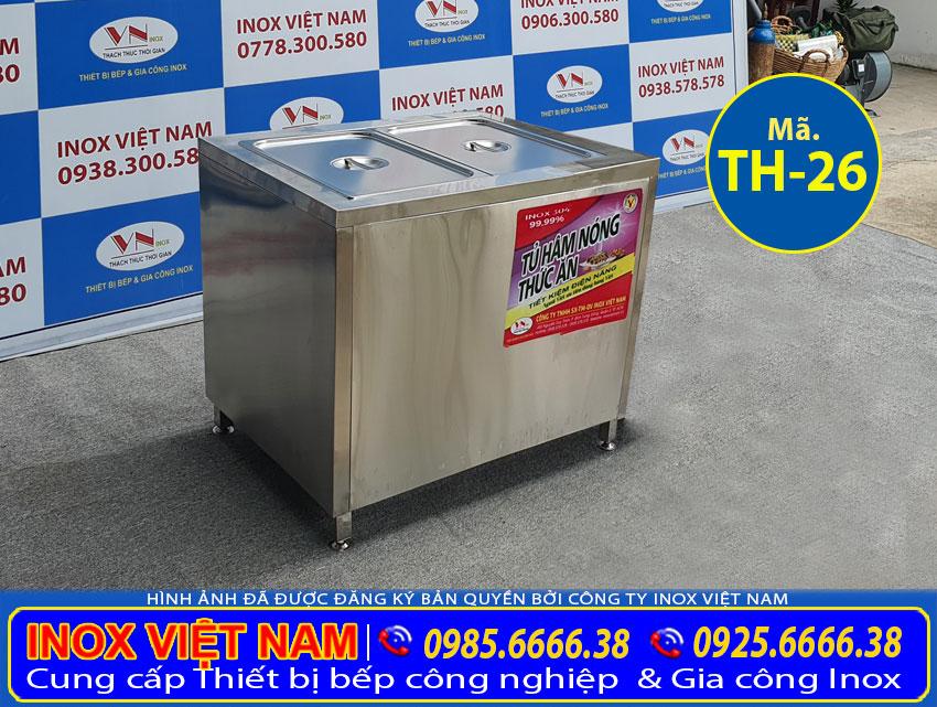Giá tủ hâm nóng thức ăn TH-26