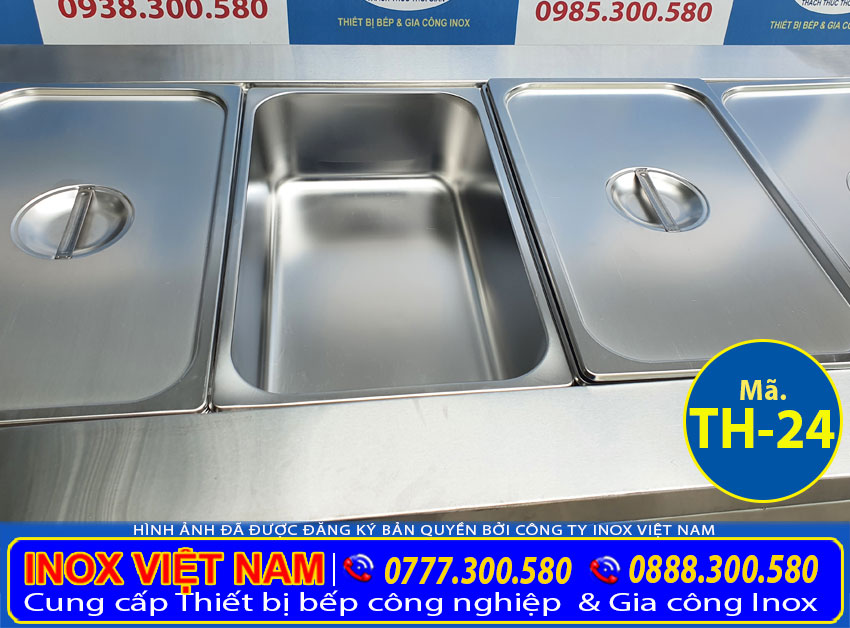 Khay GN tủ hâm nóng thức ăn 5 khay TH-24