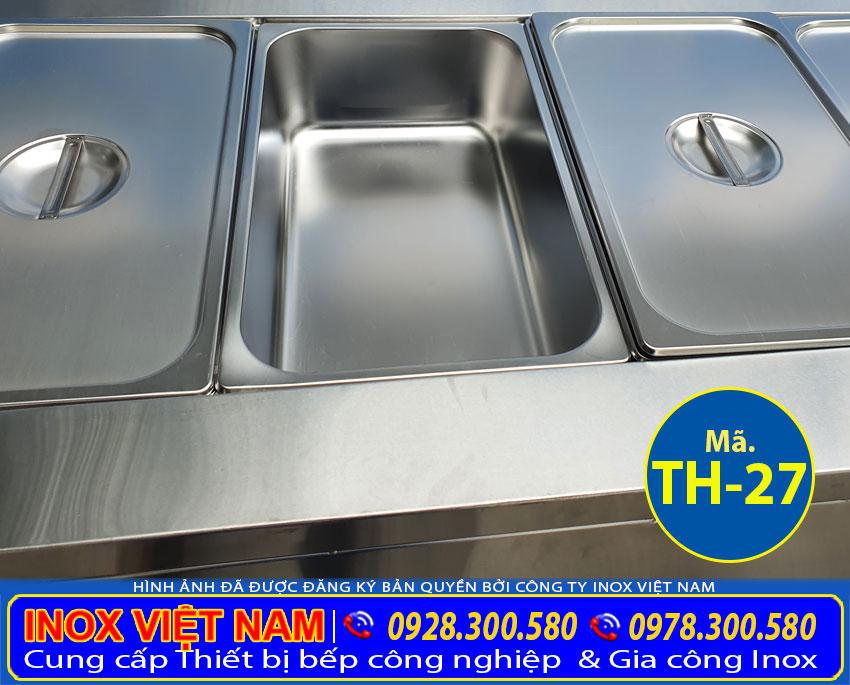 Khay GN tủ hâm nóng thức ăn loại 3 khay