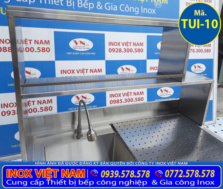 Khung kệ tủ inox TUI-10