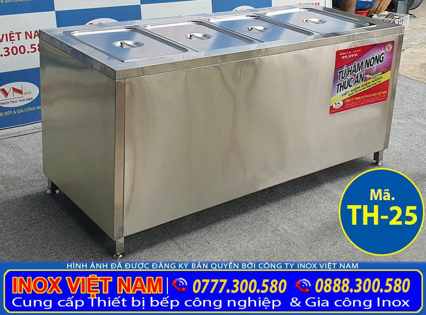 Quầy giữ nóng thức ăn 5 khay TH-25