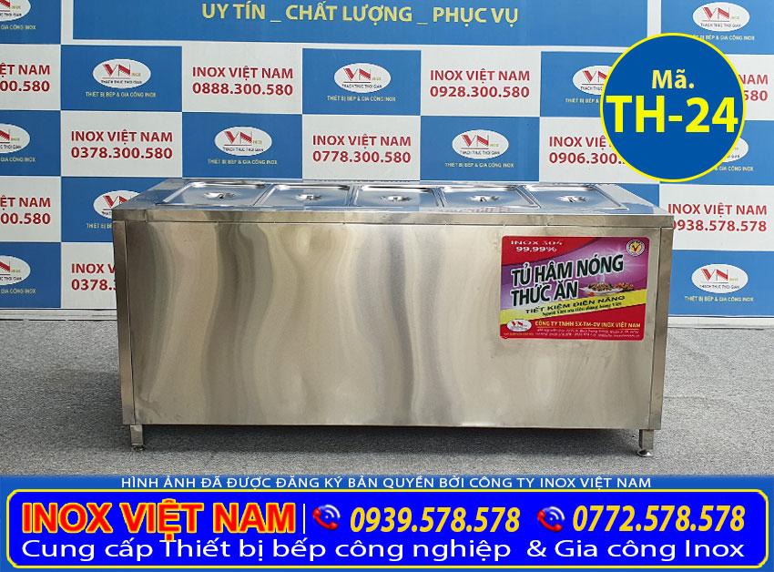 Tủ hâm nóng thức ăn 5 khay TH-24 (01)