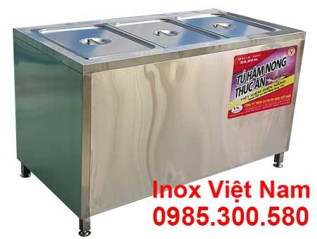Tủ hâm nóng thức ăn loại 3 khay TH-27