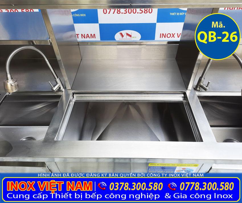 Giá quầy trà sữa inox 304
