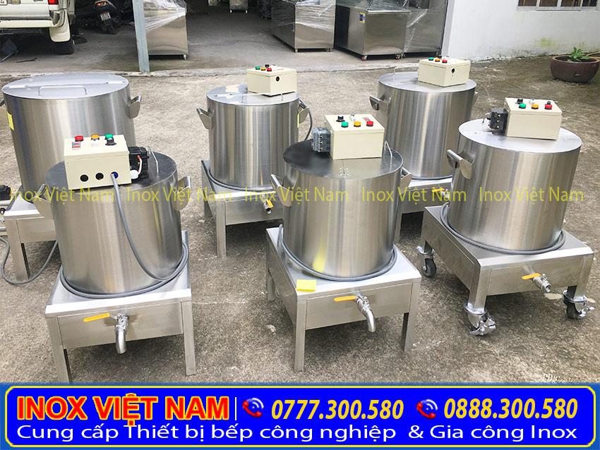 giá bán nồi nấu phở bằng điện tại Inox Việt Nam