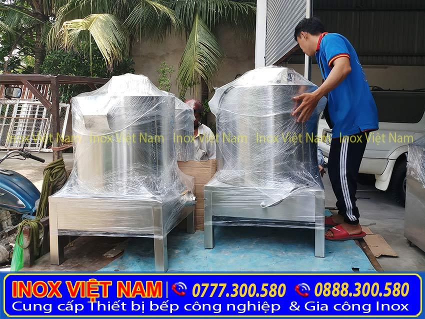Giao hàng nồi nấu phở tại Inox Việt Nam