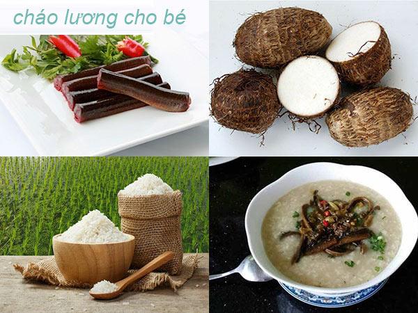 cach-nau-chao-luon-khoai-mon-cho-be-an-dam