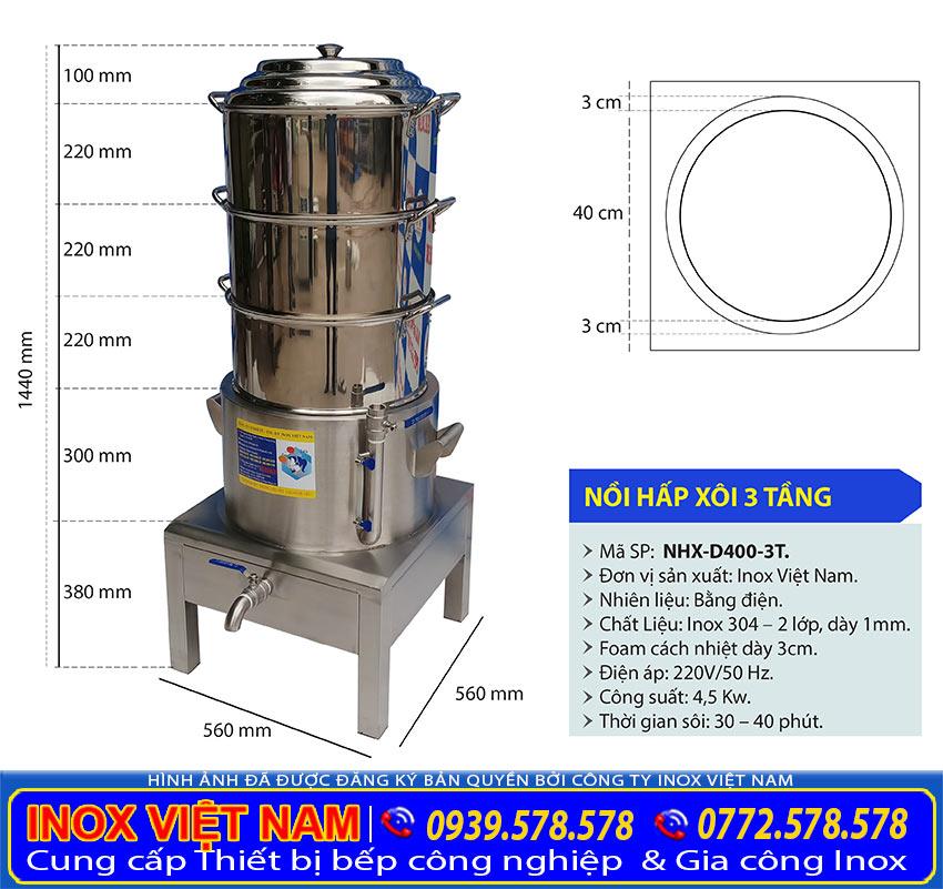 KICH-THUOC-NOI-HAP-XOI-CONG-NGHIEP-3-TANG-NHX-D400-3T
