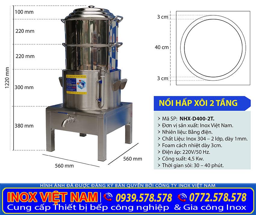 KICH-THUOC-NOI-NAU-XOI-CONG-NGHIEP-2-TANG-NHX-D400-2T