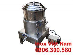 noi-hap-xoi-dien-1-tang-hap-inox-304