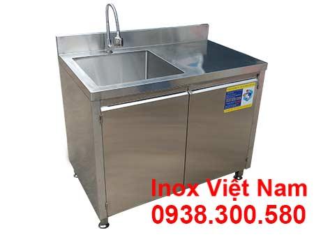 Tủ Inox Có Bồn Rửa TUI-01