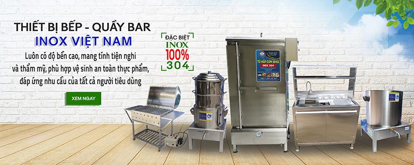 Cung cấp thiết bị bếp công nghiệp, thiết bị bar-cafe cao cấp