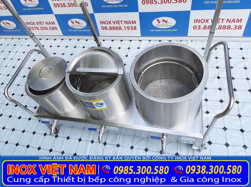 Bộ nồi nấu phở bằng điện 30l-80l-100l