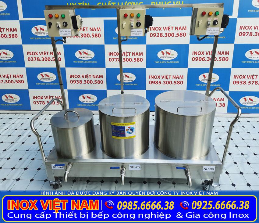 Địa chỉ cung cấp bộ nồi nấu phở liền bệ 30 lít - 70 lít - 90 lít giá tốt tại tphcm
