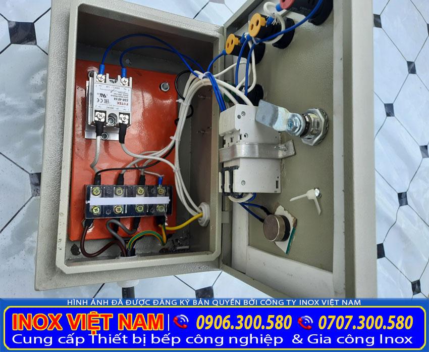 Hộp điều khiển điện của nồi nấu nước sôi công nghiệp