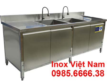 Tủ bồn rửa bát đĩa inox 304 TUI-16