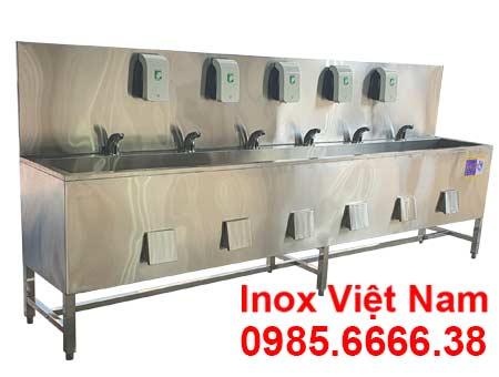 Chậu rửa tay inox công nghiệp CR-38 (03)