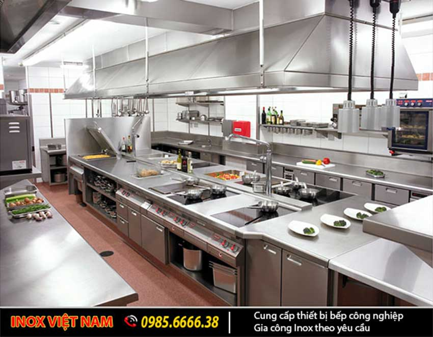 Giá thiết bị bếp nhà hàng