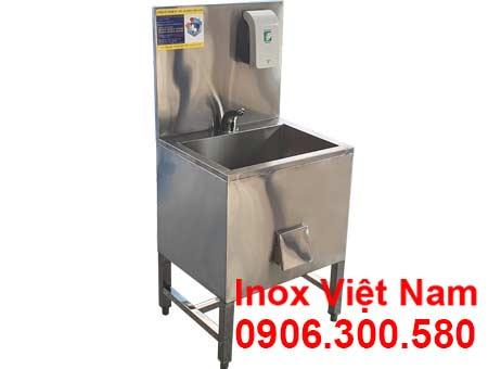 Máng rửa tay inox công nghiệp CR-39