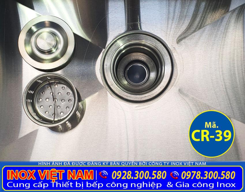 Xi phong của máng rửa tay inox công nghiệp CR-39