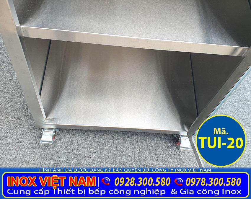 Hộc tủ inox chứa đồ TUI-20