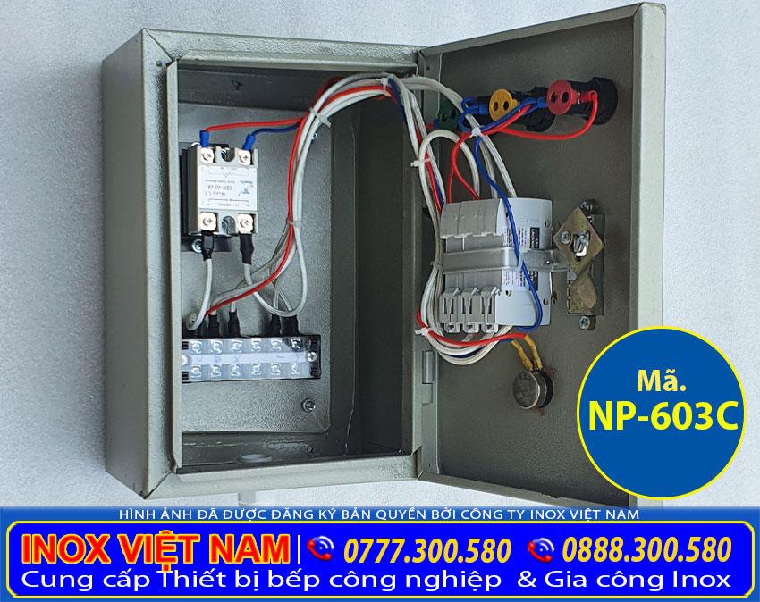 Hộp điện nồi nấu phở bằng điện 3 chân NP-603C
