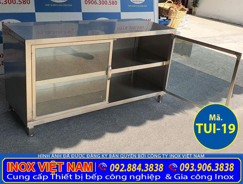 Tủ inox chứa đồ TUI-19 (02)