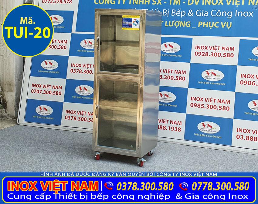 Tủ inox chứa đồ TUI-20 (01)