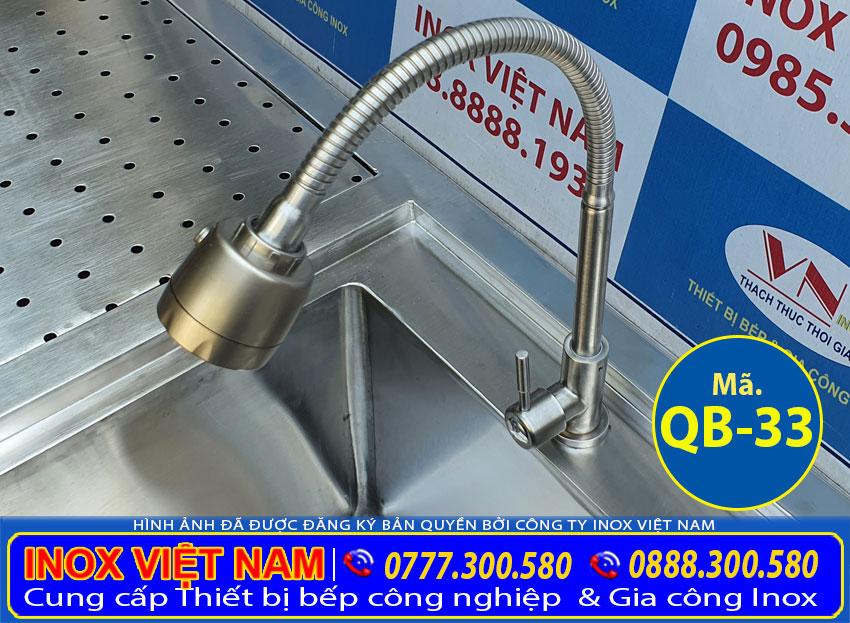 Vòi xả nước của quầy pha chế inox QB-33