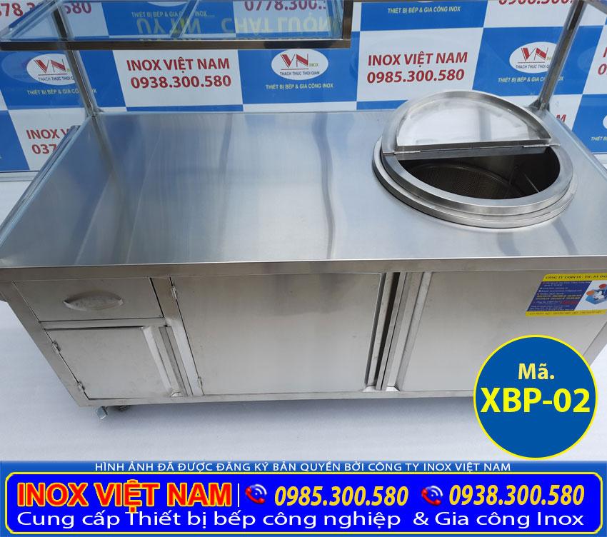 Mặt bàn xe bán hủ tiếu bán phở XBP (02)