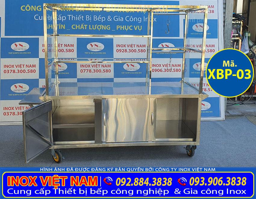 Xe bán phở, xe bán hủ tiếu XBP-03 chất lượng