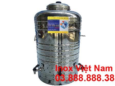 Bình đựng nước 100 lít 3 vòi gat