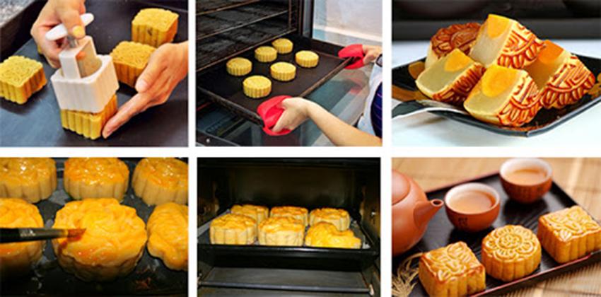 Cách làm bánh trung thu nhân đậu xanh