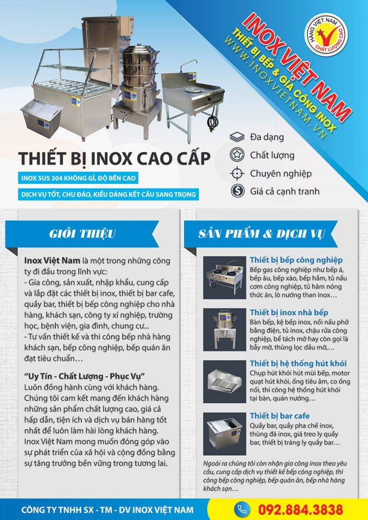 Thương hiệu Inox Việt Nam